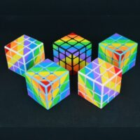 YONGJUNG INEQUILATERAL CUBE RAINBOW