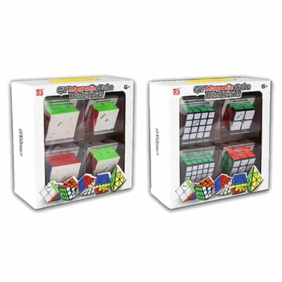 QIYI MS 4 CUBES PACK MAGNETIC